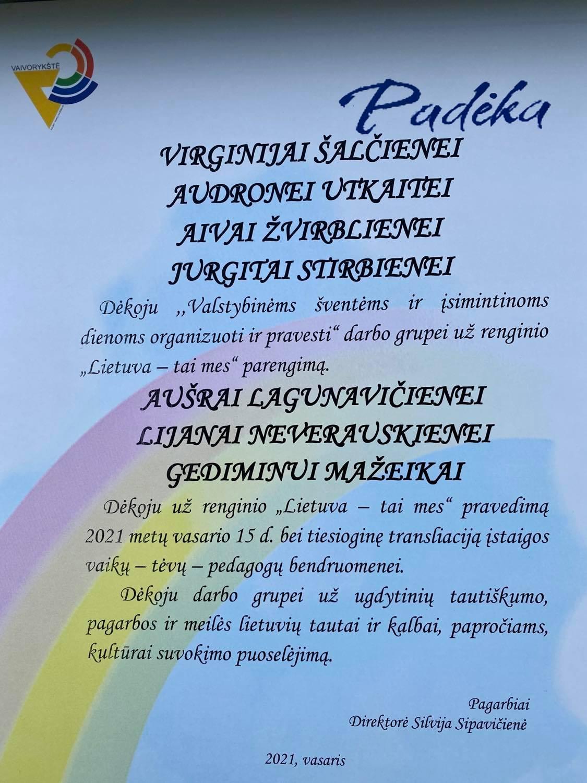 Lietuva-tai-mes-padeka